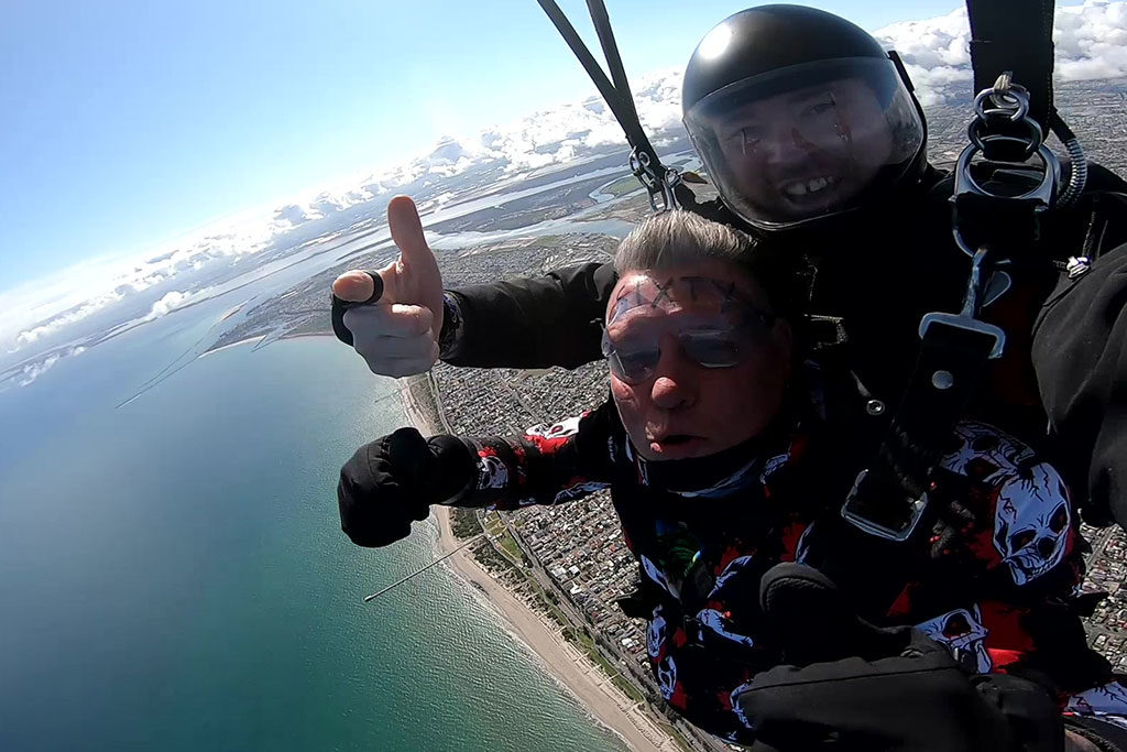 Coastal Skydive Views