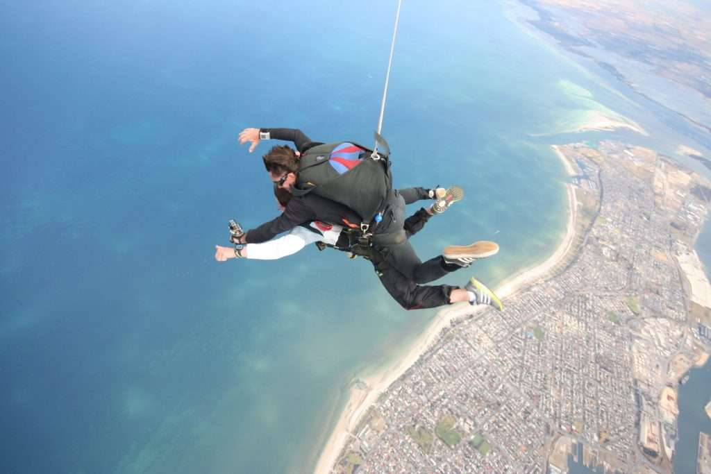 Coastal Skydive for amazing scenery