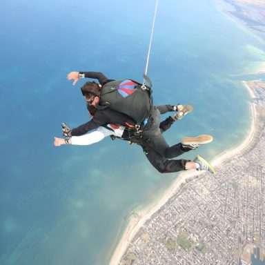 Coastal Skydive for amazing scenery