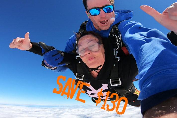 Summer Semaphore Mid Week Skydive Special